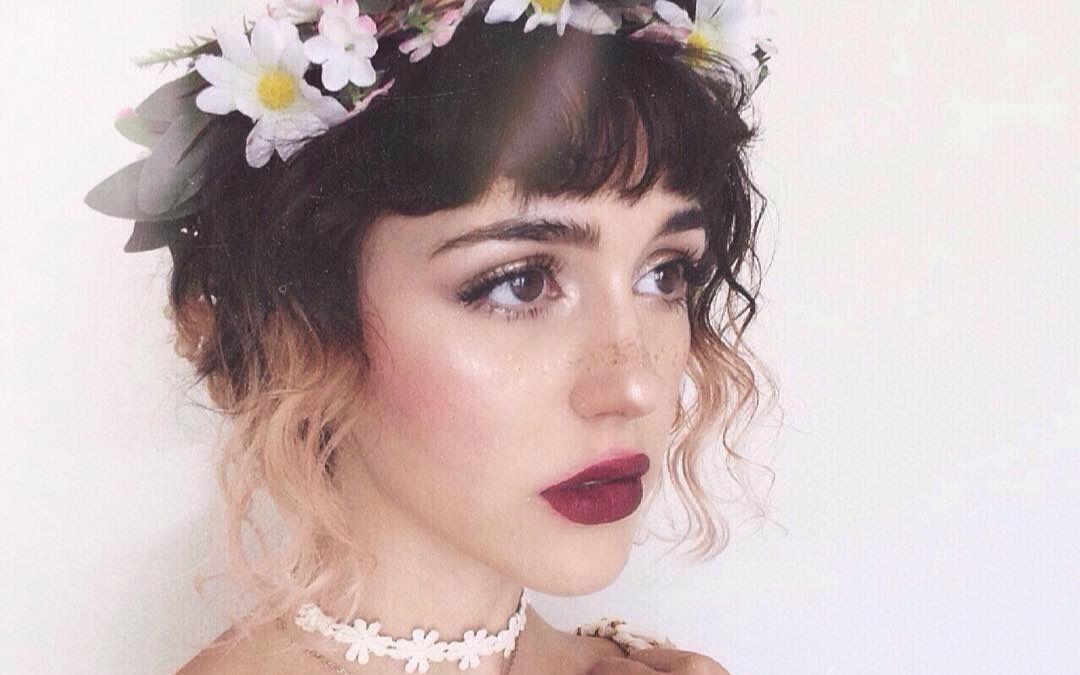 kenna---自带仙气的花精灵妆容