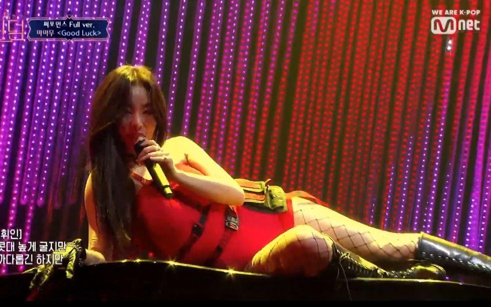 Queendom女团之战!MAMAMOO+AOA+朴春 交换曲目第2次竞演舞台公开