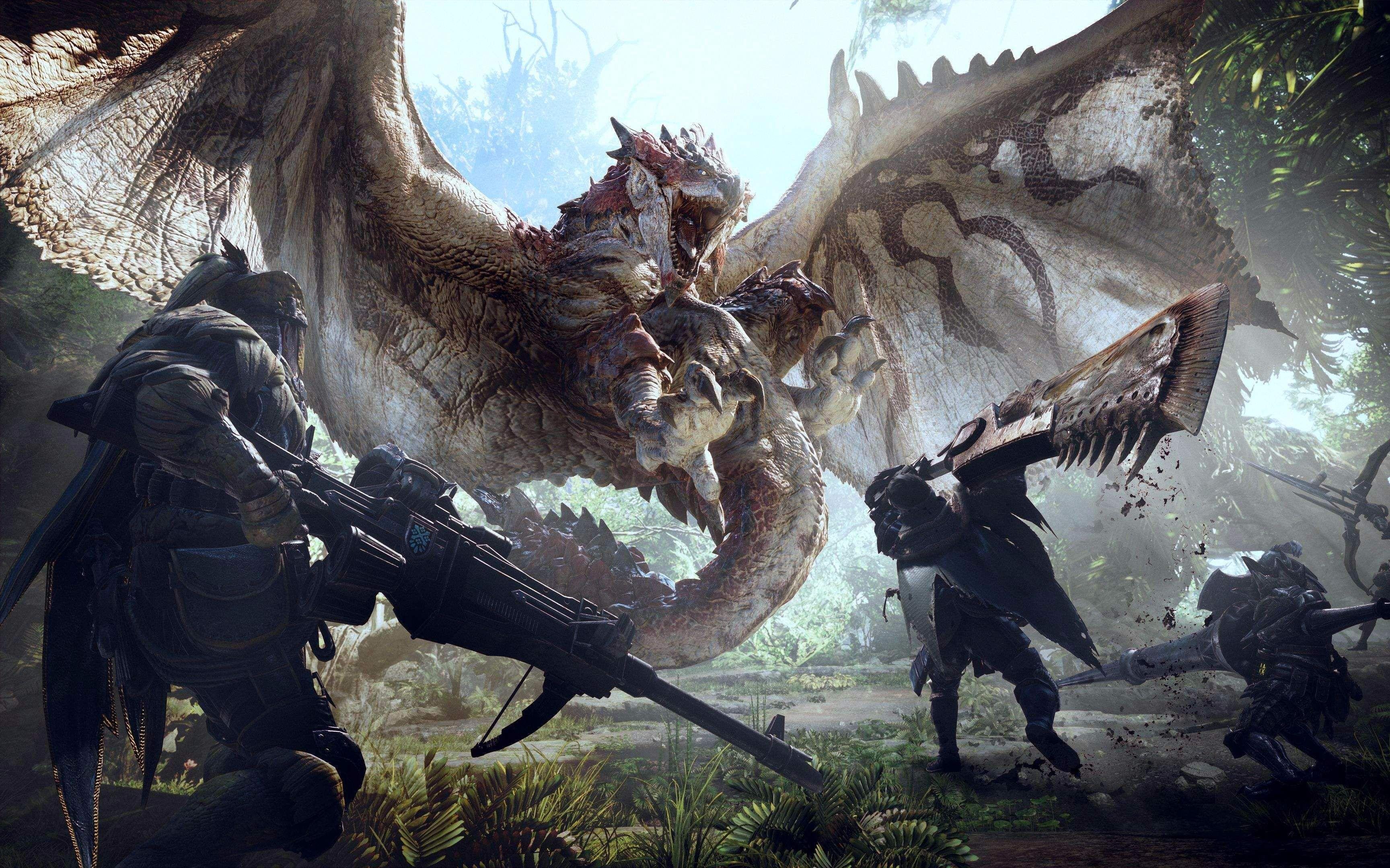怪物猎人世界 与好基友的换了时光 斗技大会篇 岩贼龙图片