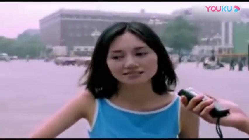 90年代 朴树街头采访袁泉 这两人也太文艺了