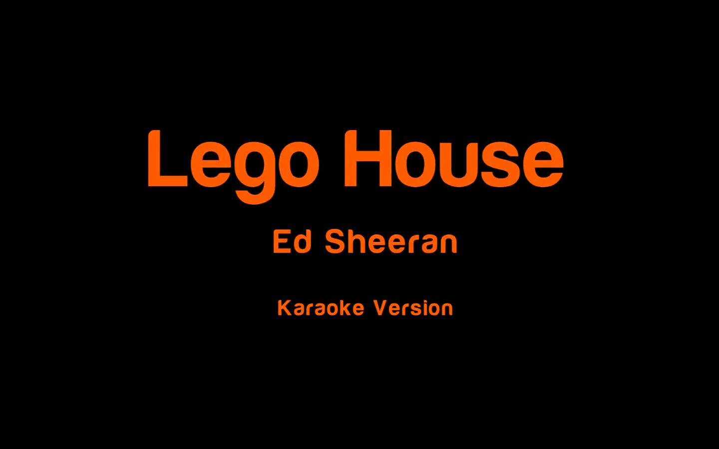 recipe: lego house karaoke [33]