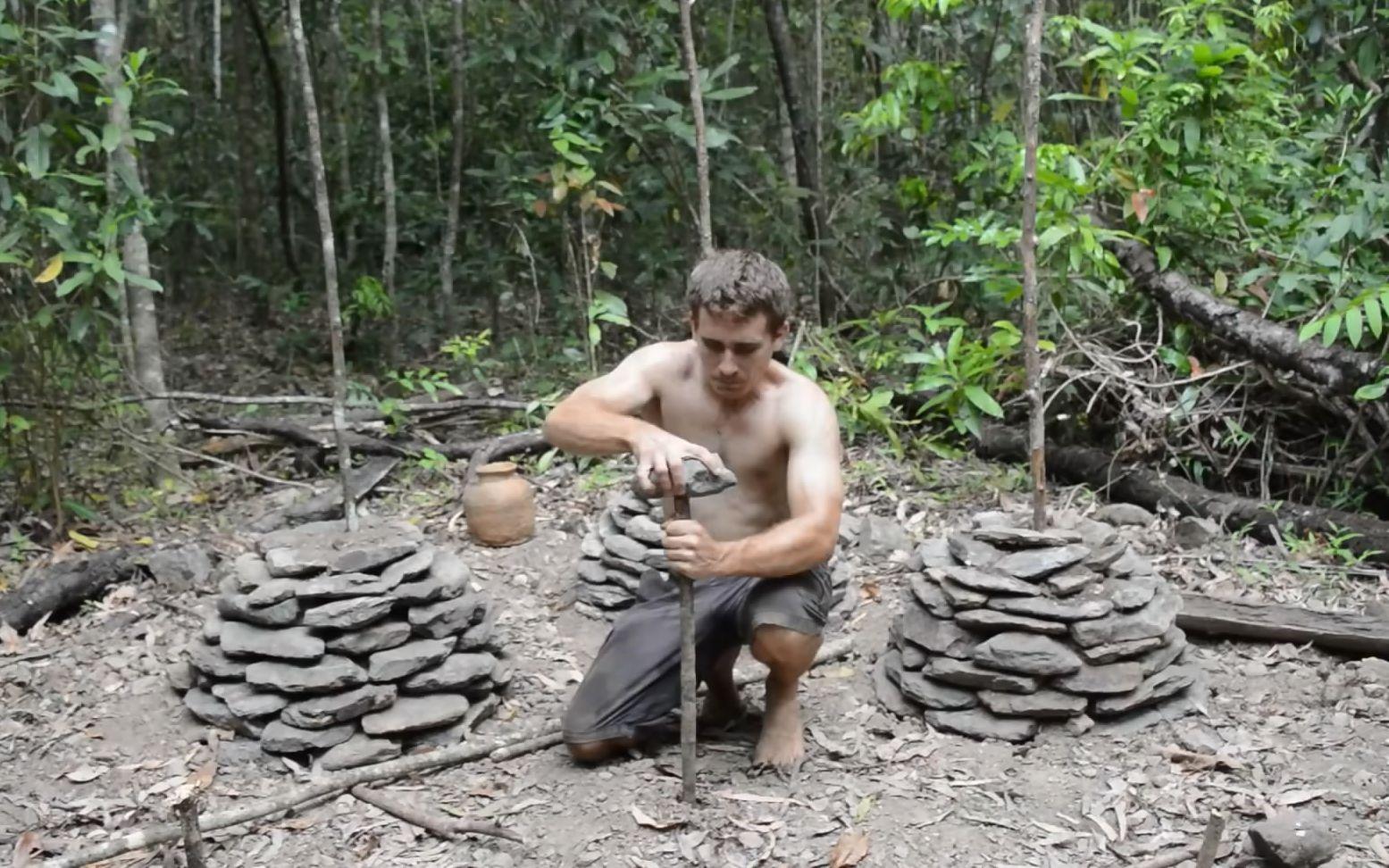 【原始技术】石堆种大薯(Minecraft真人版第四十二弹)