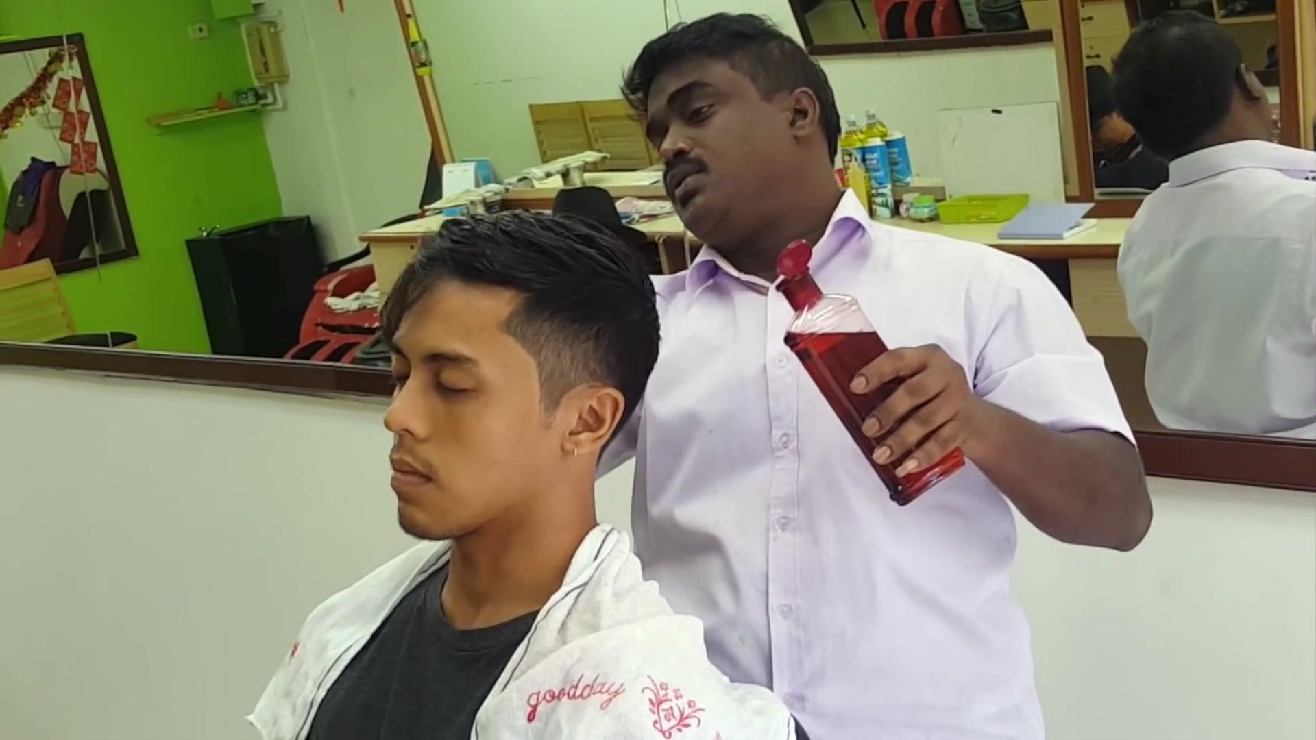 找印度人剪头发 life in malaysia图片