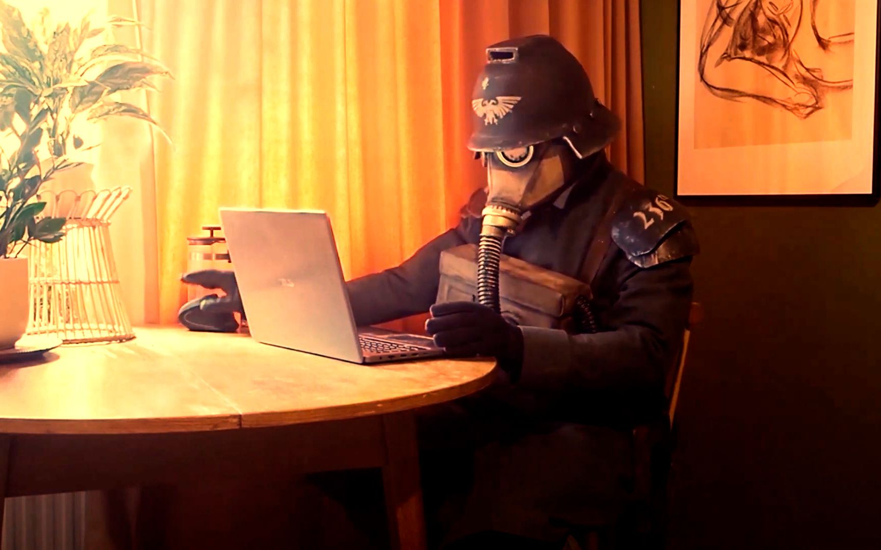 克里格大战星神碎片,之后还给帝皇发了个电子邮件