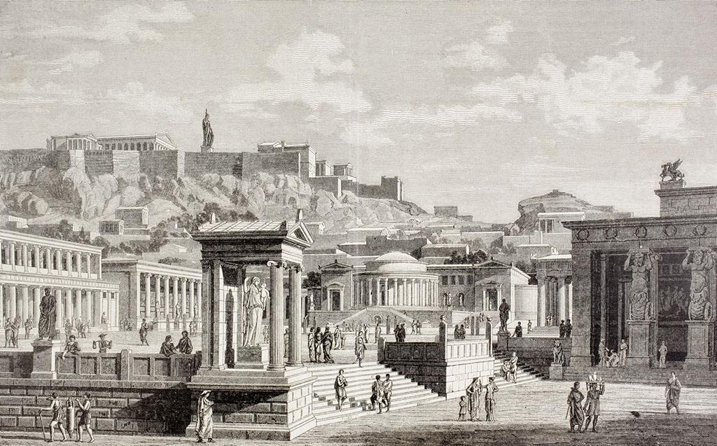 古希腊 人口_古希腊建筑
