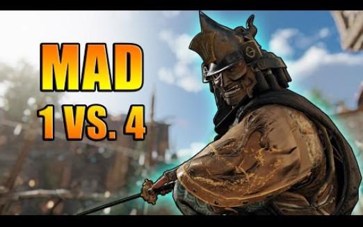 【荣耀战魂】Faraam 妈 的 人 呢-MAD 1 vs. 4 - Totally normal Situation [For Honor]