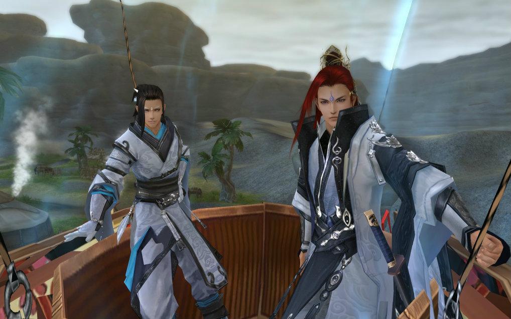 【剑网三】 苍云粑粑和纯阳粑粑的战斗图片