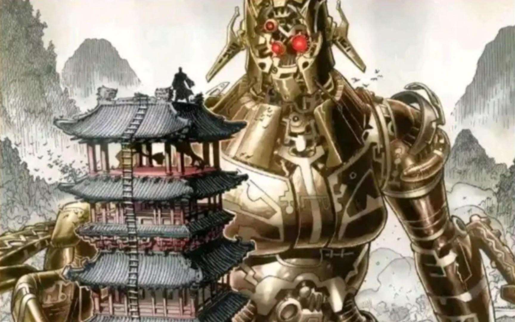 写了一篇漫威里的中国元素的文章,大家可以点我头像看一看