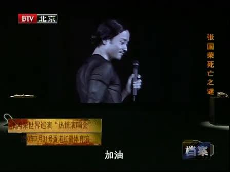 张国荣 北京卫视 档案图片