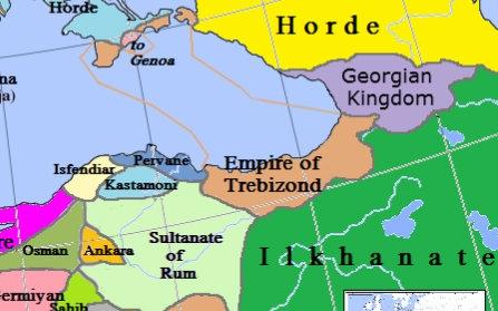 【黑水】欧陆风云4 黑海沿岸的奇迹——特拉比松帝国! 1