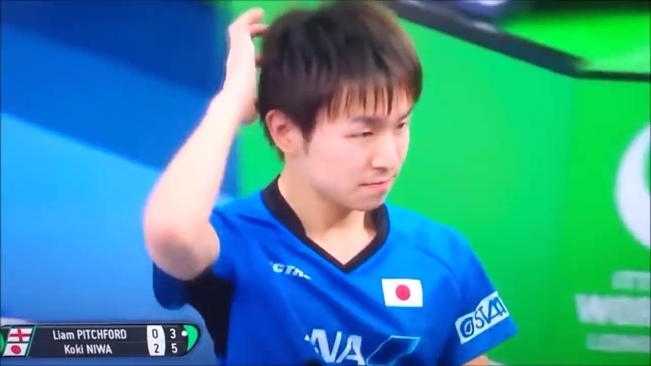 看丹羽孝希的乒乓球就像看动漫一样,全程高能