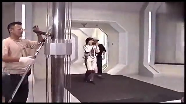 1997年 迪迦奥特曼 特摄片 拍摄现场 _百度