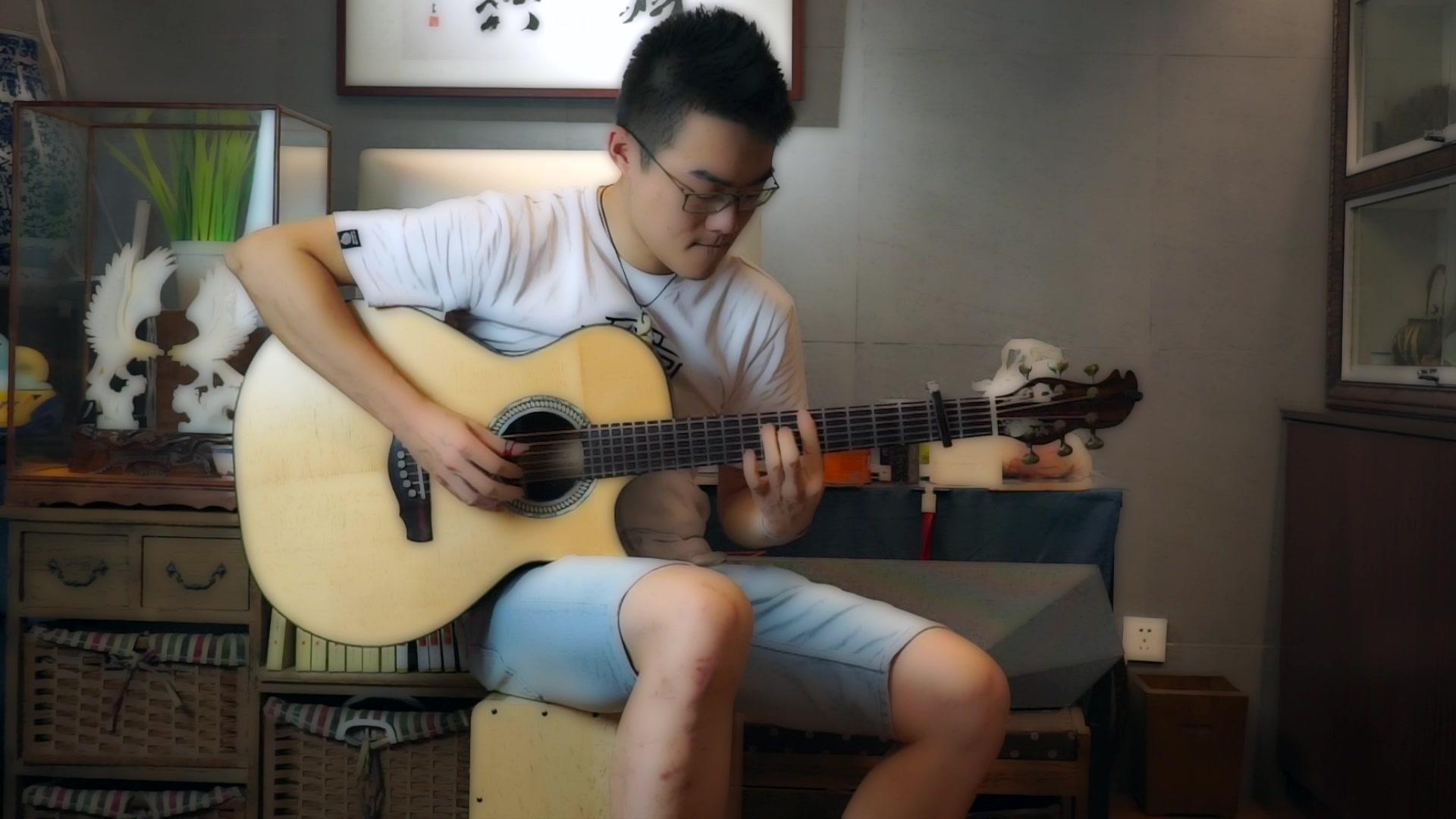 《Line3 》李岱蔚  指弹组 2019卡马杯第二届全国原声吉他大赛-复赛