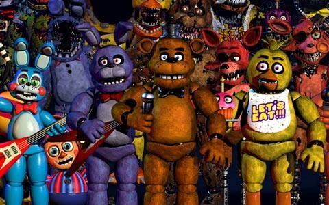 玩具熊的五夜后宫1大合集