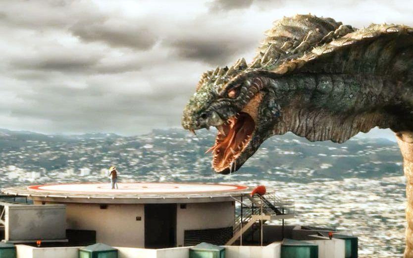 远古巨蟒入侵美国,一个小时摧毁一座城市,中国神龙化解危机!