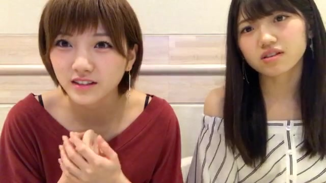 SHOWROOM AKB48 Team 4  - 岡田 奈々 2017年08月28日13時29分17秒(村山 彩希 半程左右同屏)