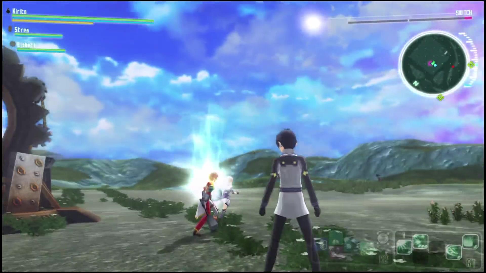 刀剑神域vs加速世界 part2 开端