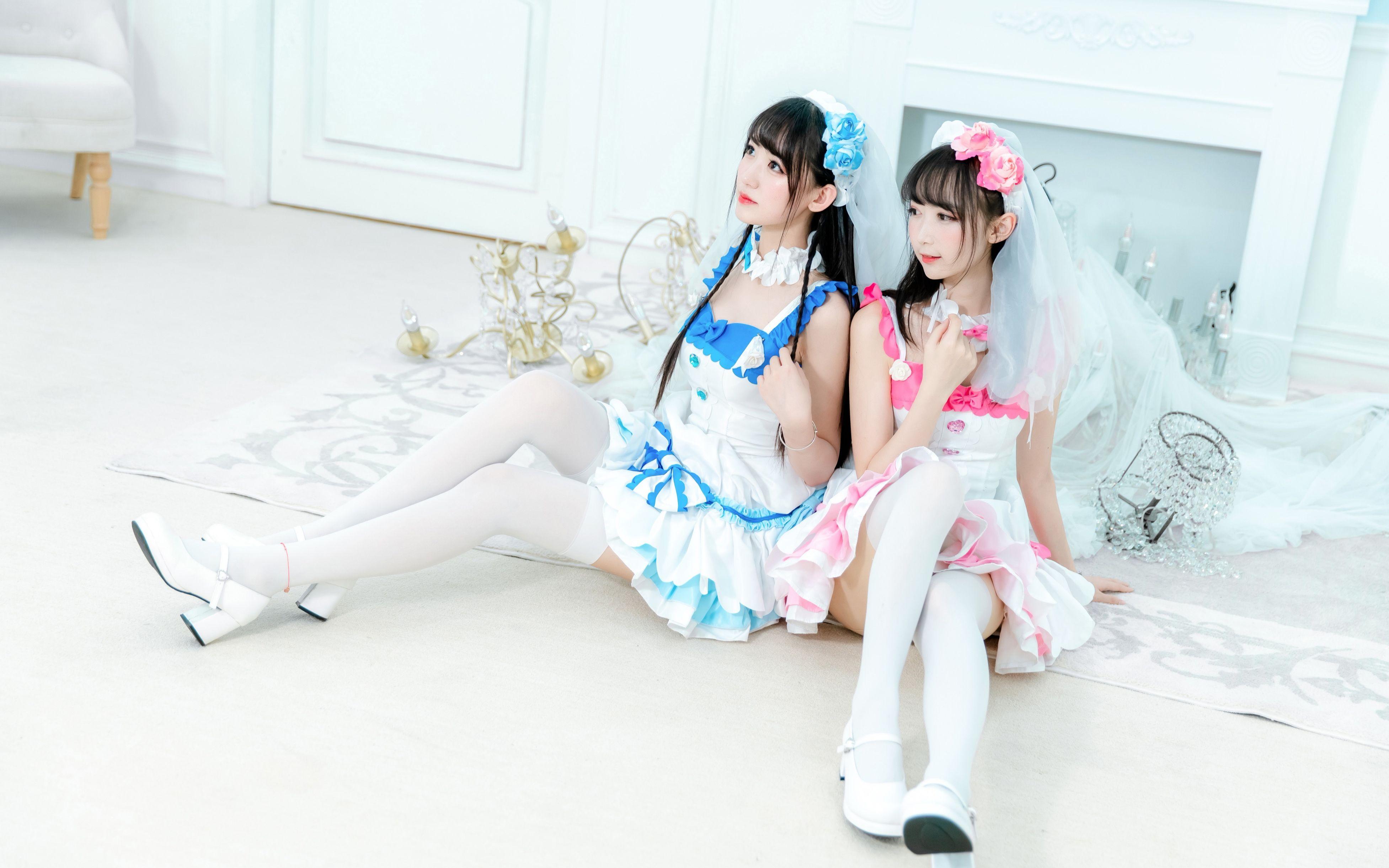 【兔总裁♡椭奇】勾指起誓❤自唱跳❤穿上花嫁你就是我的了!