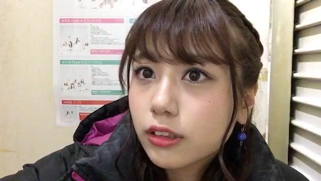 沖田 彩華(NMB48 チームBⅡ) (2018年01月10日17時55分01秒) SHOWROOM