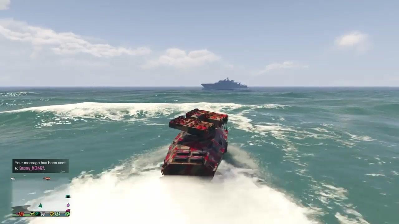 gta5当美国人驾驶apc攻占了韩国人的游艇会发生什么?