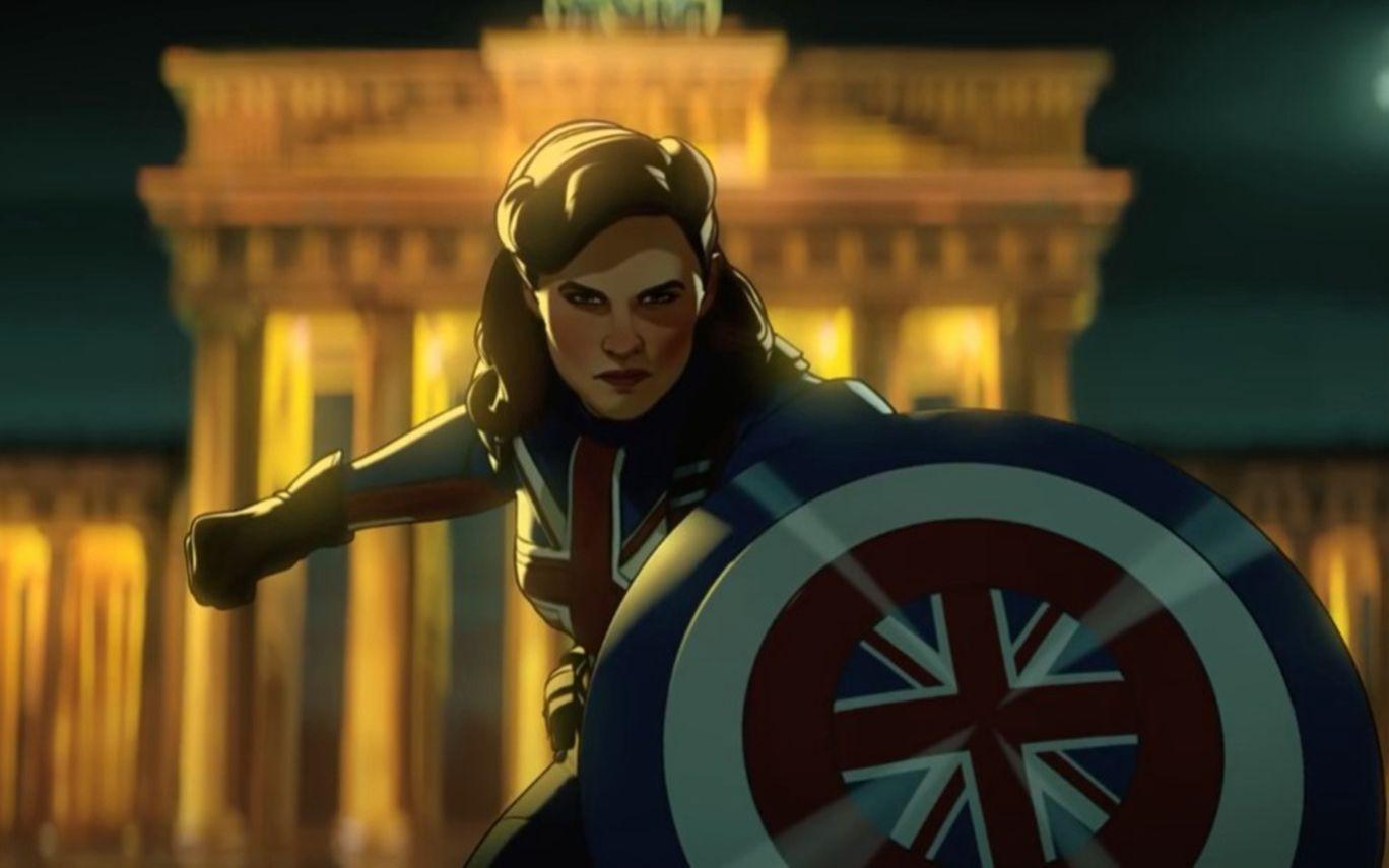 英国队长卡特,另一个宇宙里也有盾铁