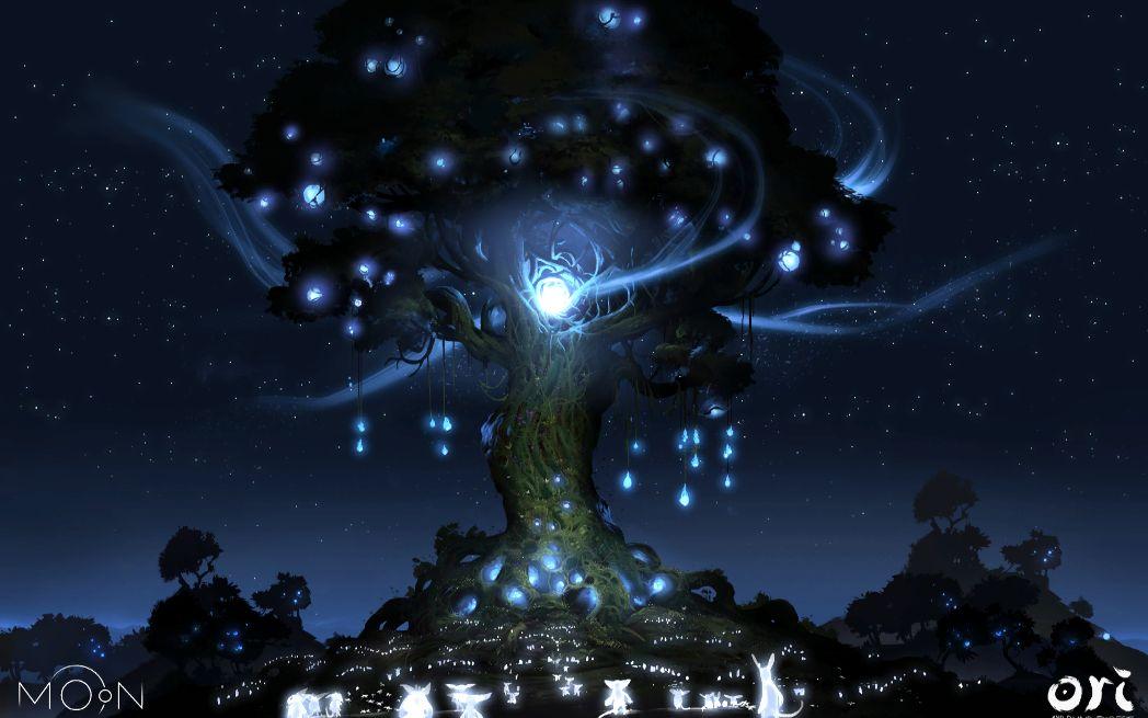 奥里与迷失森林,暴走银之树图片