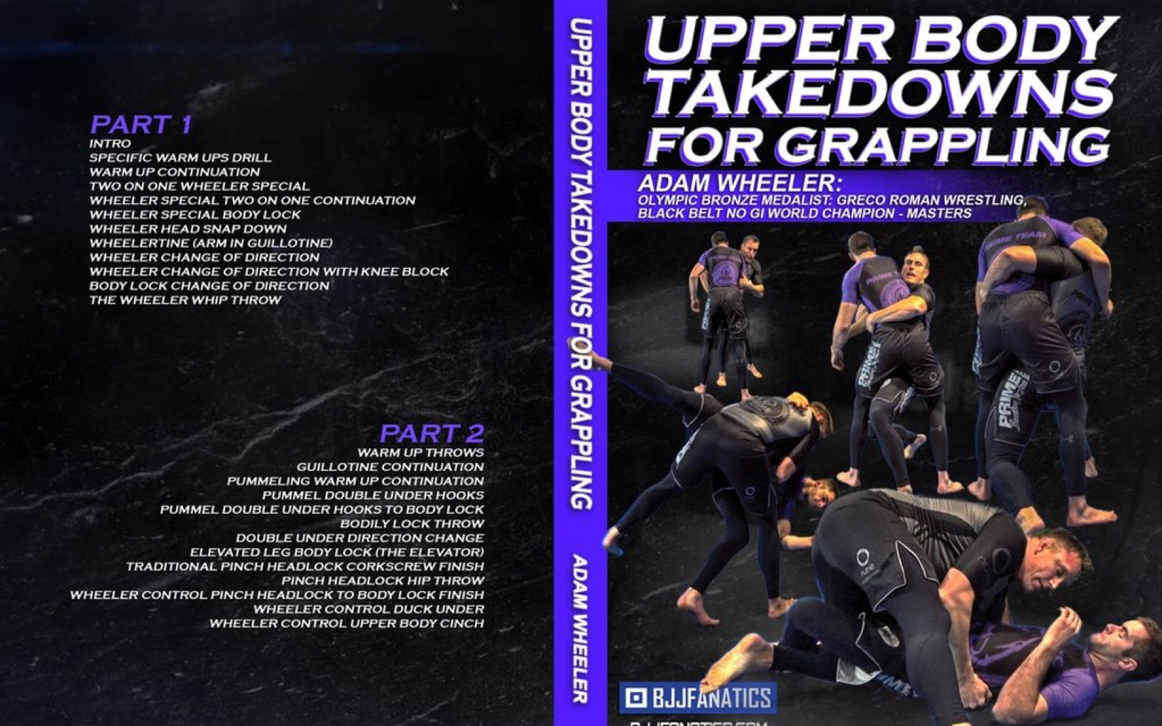 Upper Body Takedowns for Grappling vol 1~2