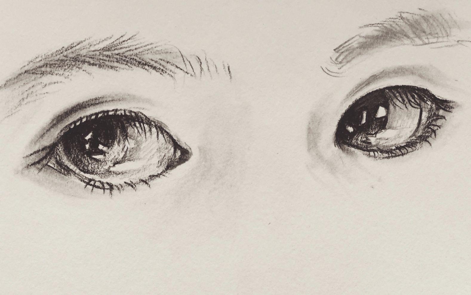 手绘 如何画眼睛们 上 4个 哔哩哔哩 ゜ ゜ つ