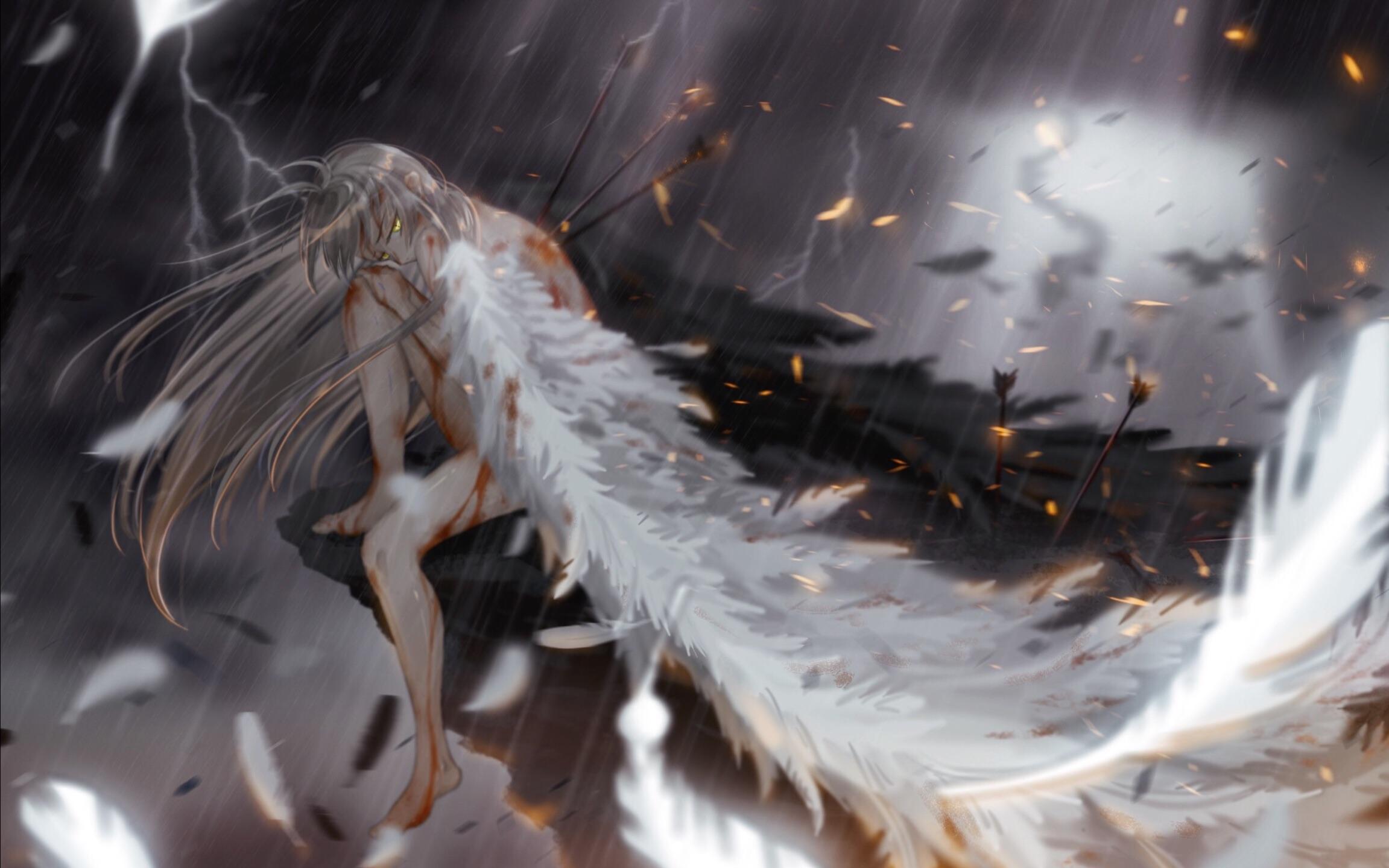 [板绘过程]杀戮天使_哔哩哔哩 (゜-゜)つロ 干杯~-bilibili