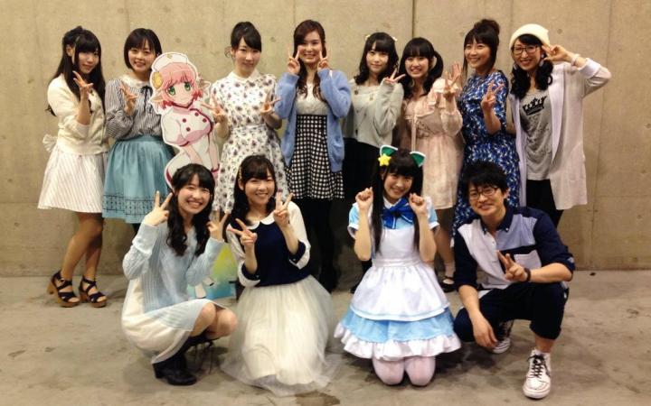 talkshow部分】 用或其他应用扫描二维码 点赞 【animejapan2015】