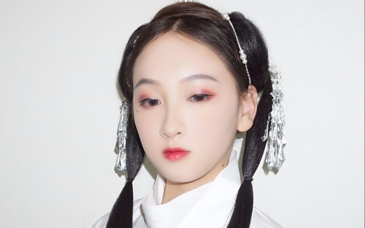 【晋襦系列】【汉服简易短发无发包】魏晋风有发片发型