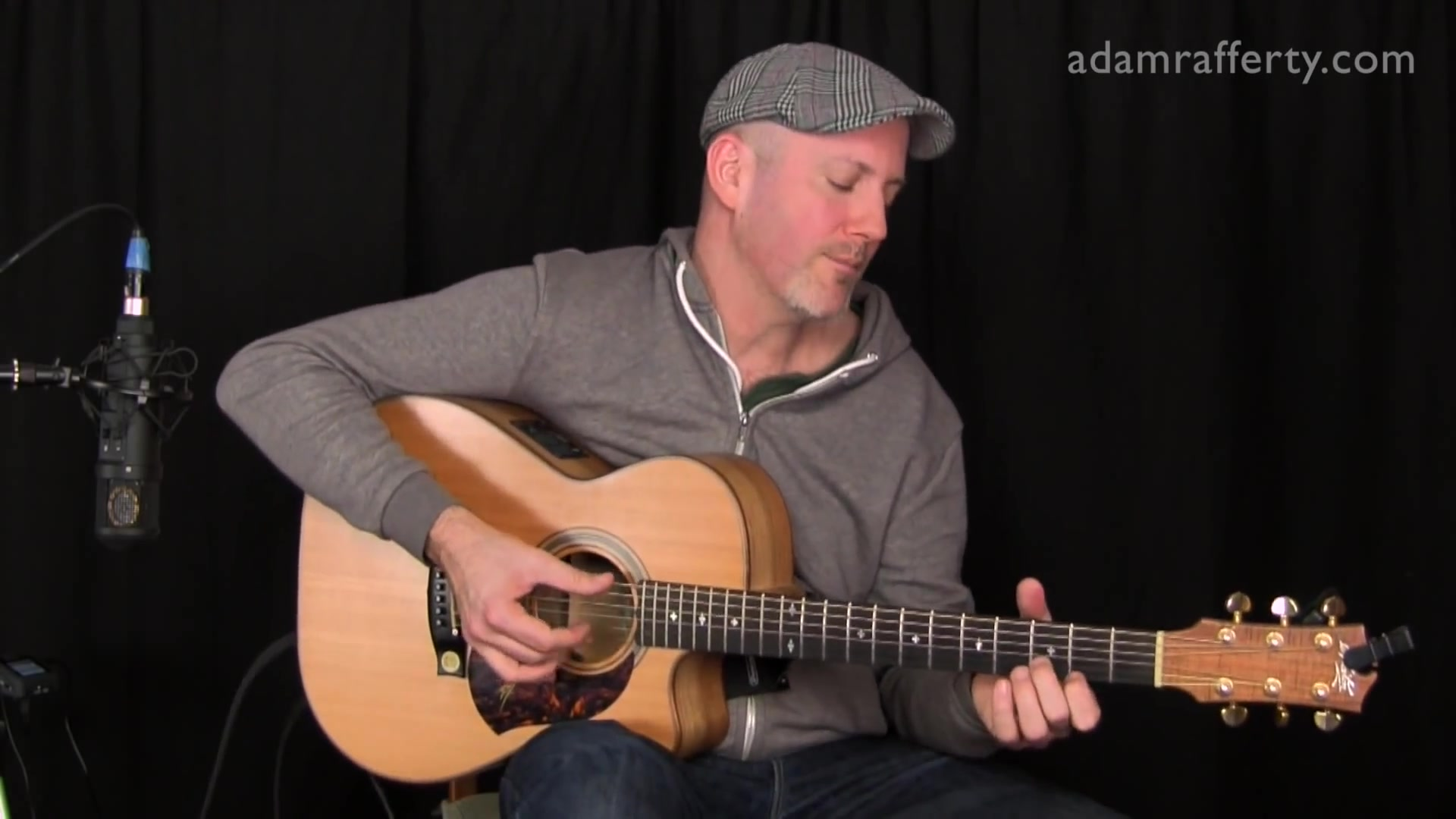 Adam Rafferty - Affirmation by George Benson - Solo Fingerstyle Guitar