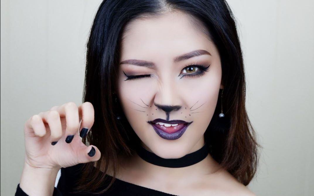 【水母】万圣节猫女妆面!抓住你这只小野猫喵图片