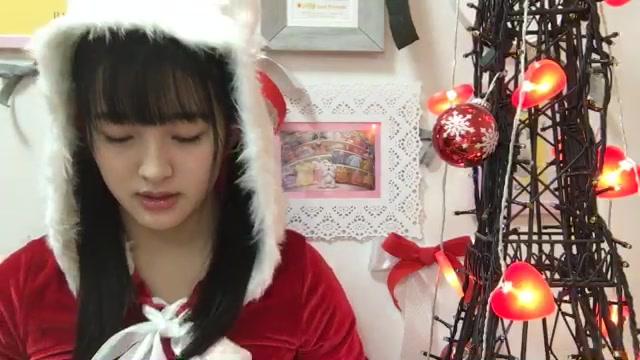 田島 芽瑠(HKT48 チームH) (2017年12月25日20時37分29秒) SHOWROOM