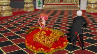 [mmd舞蹈]可爱短旗袍白丝弱音 --- 恋爱循环