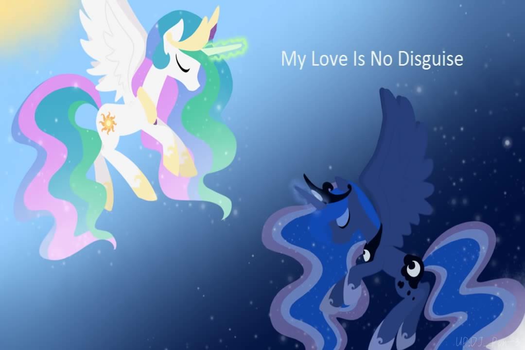 【中英双字】吾爱无佯 My Love is No Disguise 小马宝莉同人杰作