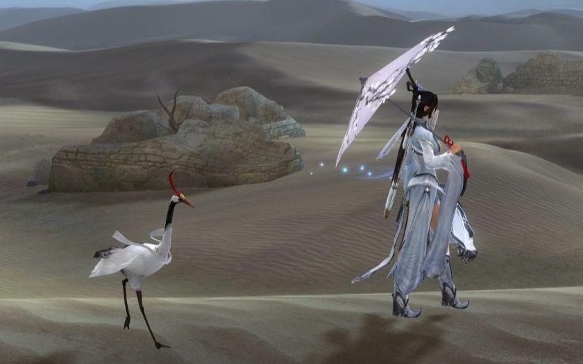 剑三夜话白鹭掉落