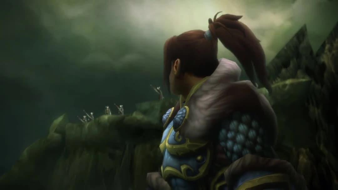 [魔兽世界]7.0破碎海滩之战联盟过场动画 -- 瓦里安之死