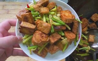 鲜味炸豆腐