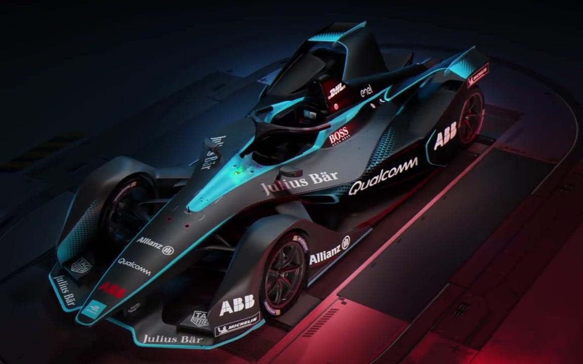 gen2 formula e car unveiled/第二代电动方程式赛车发布图片