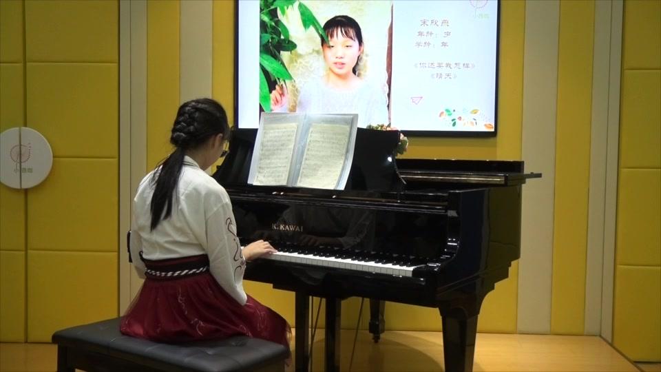 赵伟新老师音乐会20170603期 宋欣燕—你还要我怎样/晴天(钢琴演奏)图片