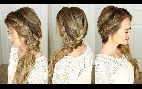 【missy sue】舞会的编织发型图片