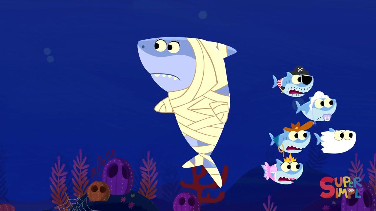 baby shark halloween kids songs super simple songs_ bilibili