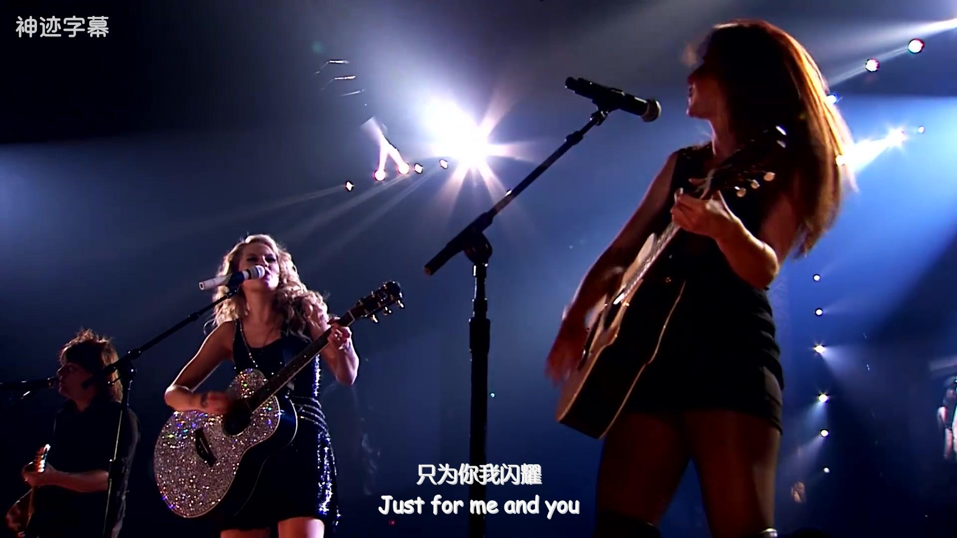 Taylor Swift u0026 Paula Fernandes  Long Live MV 中英葡字幕   小霸霸种草TV @神迹字幕