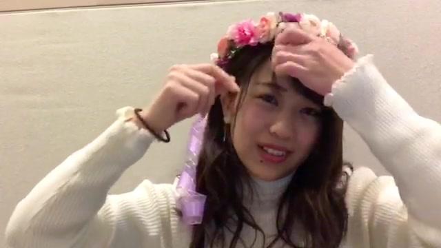 篠崎 彩奈(AKB48 チームK) (2018年01月07日18時07分36秒) SHOWROOM
