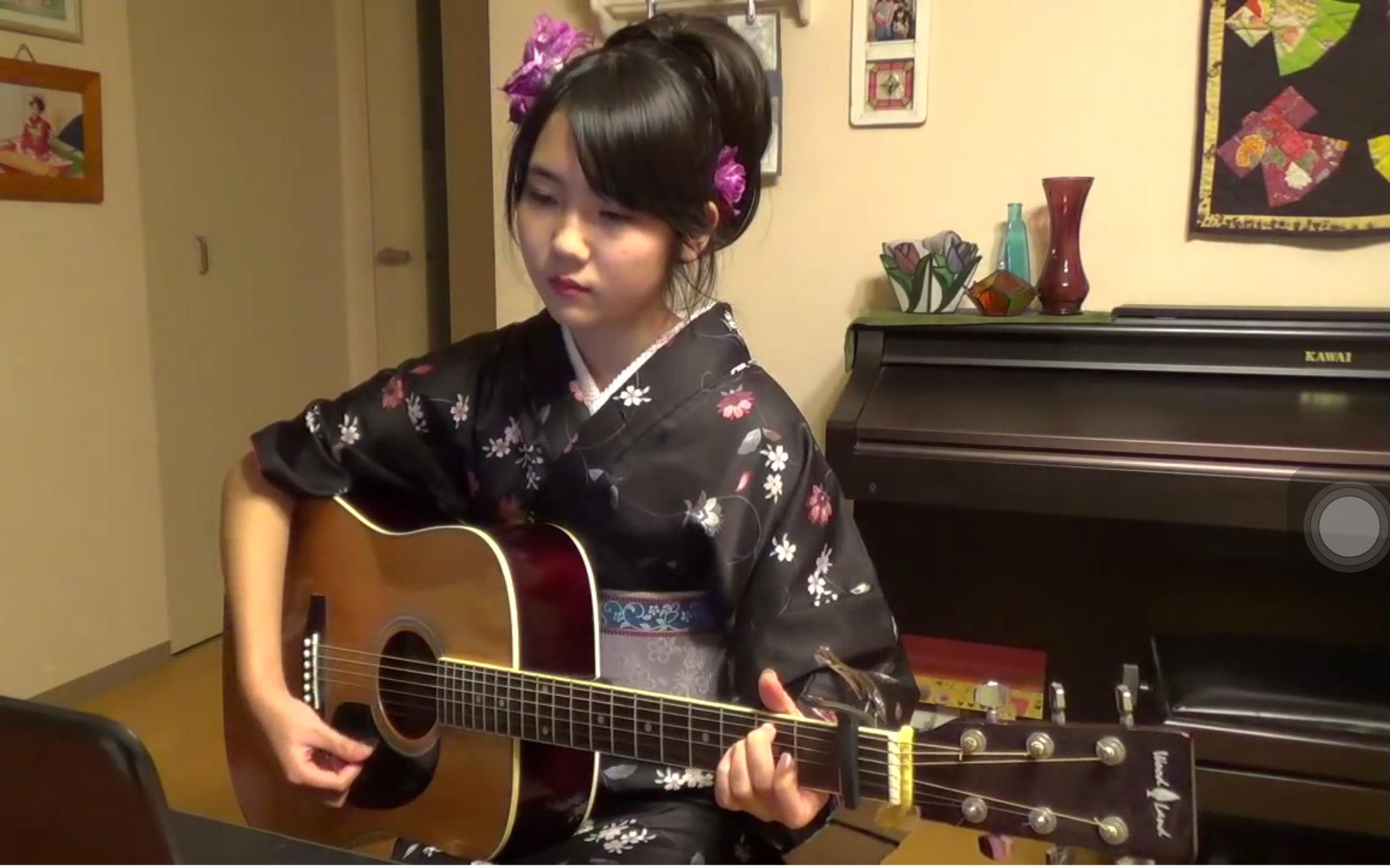 【吉他/弹唱】吉原哀歌-日文名之度娘也不会翻译系列