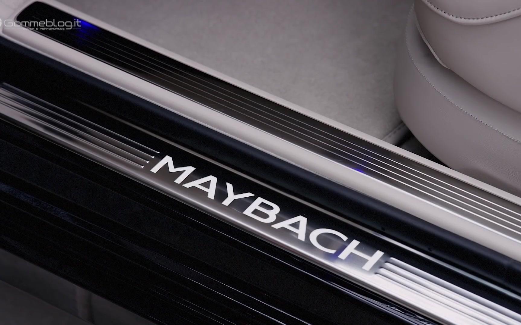 2019奔驰迈巴赫S级 S650 V12 - 内外设计细节展示宣传片[60FPS]