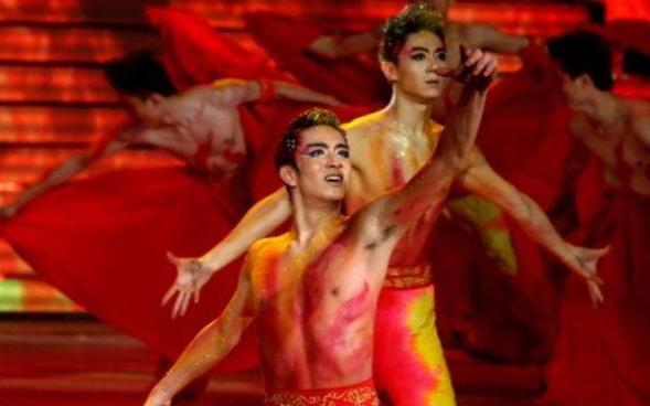 【苏鹏&胡阳&张镇新】三大男神同台舞蹈《火·生》