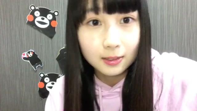 井上 瑠夏(SKE48 チームS) (2018年01月17日21時22分17秒) SHOWROOM
