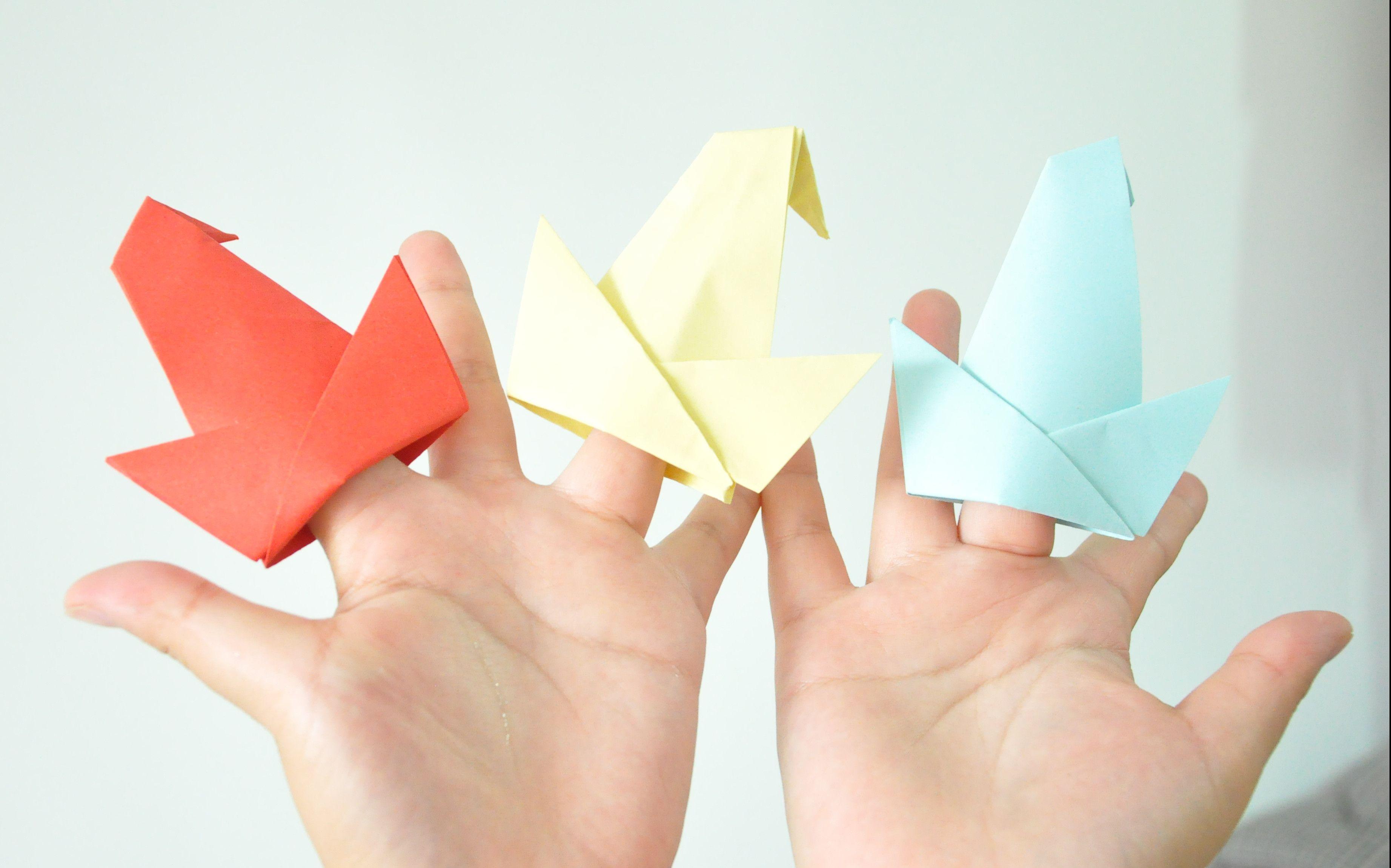 简单好玩的幼儿园亲子手工-折纸-帽子